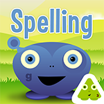 Image for Squeebles Spelling Test app. This is #4 on my list of Best Apps for Spelling.